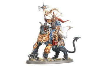 Warhammer age of sigmar Lord Celestant on dracoth