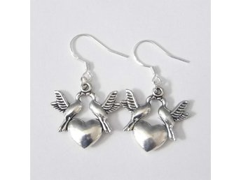 Fågel örhängen / Lovebirds earrings