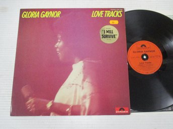 "Gloria Gaynor ""Love Tracks"""