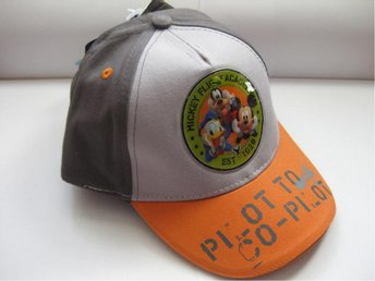 Disney Klubbhus Barn Keps Hat cap - Musse Kalle Långben Grå Orange THN - Uddevalla - Disney Klubbhus Barn Keps Hat cap - Musse Kalle Långben Grå Orange THN - Uddevalla