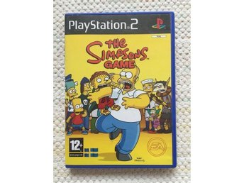 The Simpsons Game, Playstation 2, spel