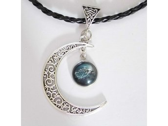 Game of Thrones Stark Måne Halsband / Moon Necklace