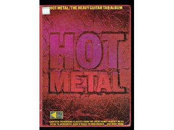 Hot Metal - The Heavy Guitar Tab Album (Svårfunnen)