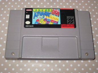 Tetris Attack USA till Super Nintendo SNES
