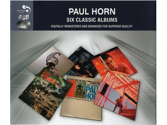 Paul Horn - Six Classic Albums (4xCD, Comp, RM)