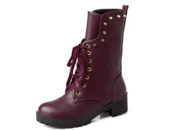 Dam Boots footwear shoes P20362 size 34-40 jiu hong 36