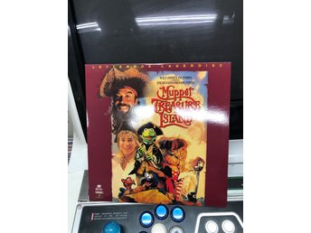 Laserdisc - The Muppets Treasure Island - Enkel
