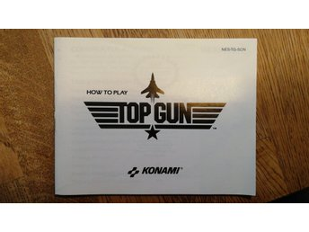 Top gun manual Scn svensk