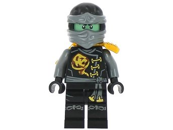 Lego - Figurer - Ninjago - Black Cole - Skybound GHOST