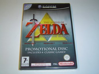 Zelda Collectors Edition Nintendo Gamecube PAL *NYTT*
