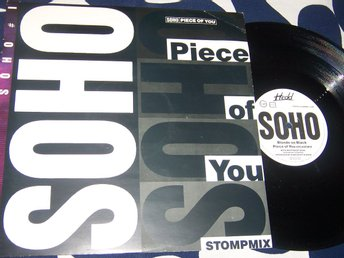 "SOHO - PIECE OF YOU 12"" 1988 UK"