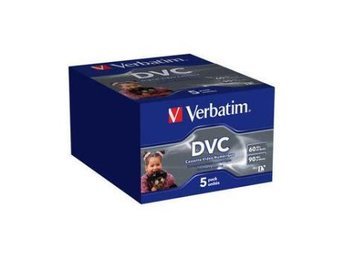 DVC Verbatim Mini DV 5-pack Digitalkameraband 60min (Digital Video Cassette)
