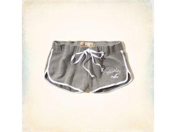 HOLLISTER Shorts, Ljusgrå, Stl. S, Helt Nya!! - Miami - HOLLISTER Shorts, Ljusgrå, Stl. S, Helt Nya!! - Miami
