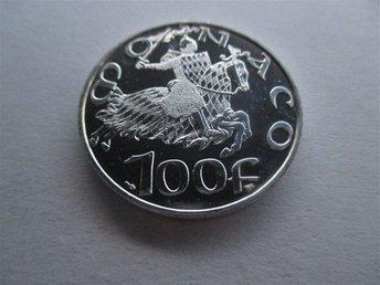 Monaco 100 francs, 1997 700th Anniversary - Grimaldi Dynasty - Geraardsbergen - Monaco 100 francs, 1997 700th Anniversary - Grimaldi Dynasty - Geraardsbergen