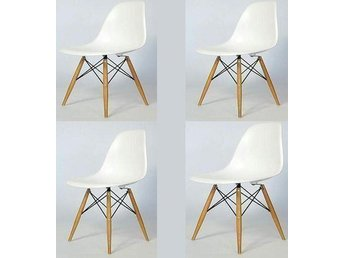 4 x Style Dining Side Chair!Stol!Fåtölj!Möbler - Kista - 4 x Style Dining Side Chair!Stol!Fåtölj!Möbler - Kista