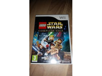 Lego star wars the complete saga till Wii