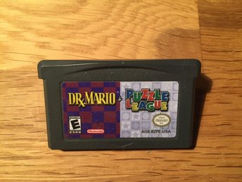 Dr Mario / Puzzle League - Gameboy Advance - USA