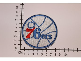 76ers NBA Broderat tygmärke att stryka på | Iron-on patch