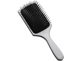 Paddle brush, silver