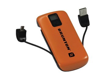 50 % RABATT! BRUNTON METAL 4400 laddstation orange  Rek butikspris: 699 kr