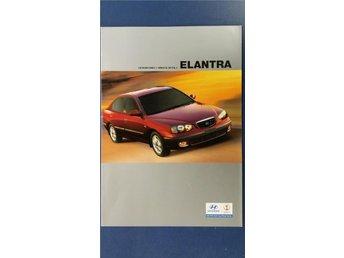 Hyundai Elantra 2001 - broschyr - Uppsala - Hyundai Elantra 2001 - broschyr - Uppsala