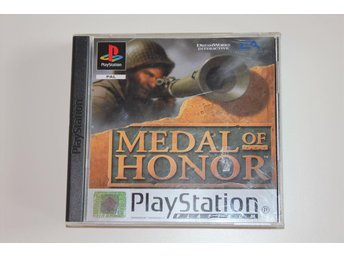 MEDAL OF HONOR - Playstation 1 / PS1 spel