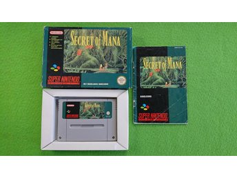 Secret of Mana  Snes Super Nintendo