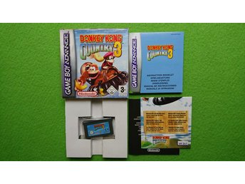 Donkey Kong Country 3 GBA Gameboy Advance