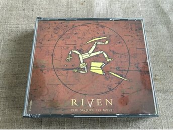 Riven the sequel to Myst, PC i fint skick!