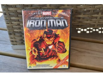The Invincible Iron man DVD (Animated Marvel Features) Ny