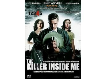 The Killer Inside Me (Casey Affleck, Jessica Alba) - DVD INPLASTAD