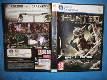 hunted the demons forge 2011 pc dvd 18 games for windows bra skick