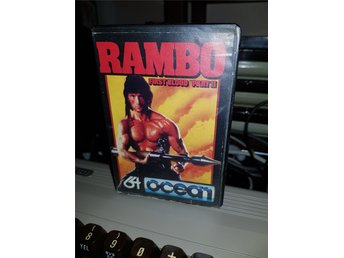 RAMBO FIRST BLOOD PART ll till Commodore 64