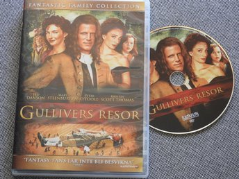 Gullivers Resor DVD - Ted Danson,Mary Steenburgen,Peter O'Toole 1996