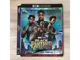 Black Panther 4K slipcover (BARA SLIPCOVER)