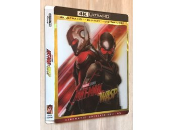 Ant-Man and the Wasp 4K Lenticular Slipcover (BARA SLIPCOVER)