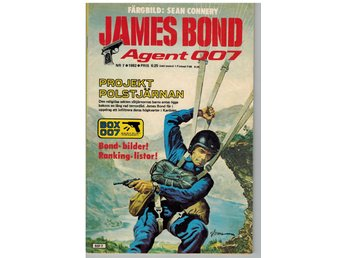 James Bond serietidning nr 7  1982