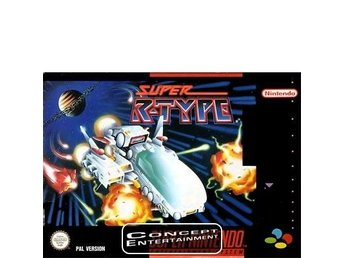 SUPER R-TYPE till Super Nintendo SNES