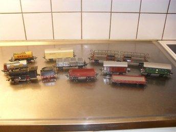 Fleischmann Lok+9 stycken Fleischmann vagnar i bra skick - Helsingborg - Fleischmann Lok+9 stycken Fleischmann vagnar i bra skick - Helsingborg