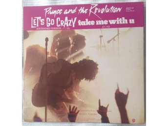 "12"" Maxi Prince and the Revolution - Let's go crazy - WB GEMA/BIEM 1984"