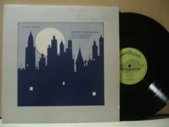 BERNDT EGERBLADH   TRIO  AS TIME GOES BY  GREEN RECORDS LP MED AUTOGRAF