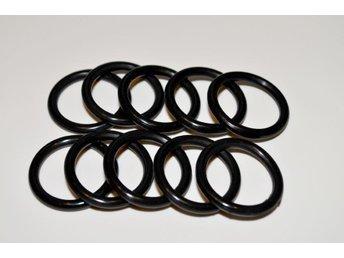 10 Svarta Nappringar Silikon o-ringar Ring till Nappband / Napphållare DIY - Upplands Väsby - 10 Svarta Nappringar Silikon o-ringar Ring till Nappband / Napphållare DIY - Upplands Väsby