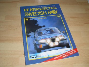 Swedish Rally, 1991, program