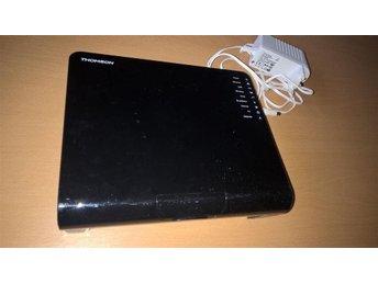 Thomson TG789vn, 2,4 ghz bandet Wifi router/modem med strömadappter - Varberg - Thomson TG789vn, 2,4 ghz bandet Wifi router/modem med strömadappter - Varberg