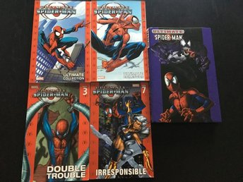 Ultimate Spider-Man böcker, 5 st