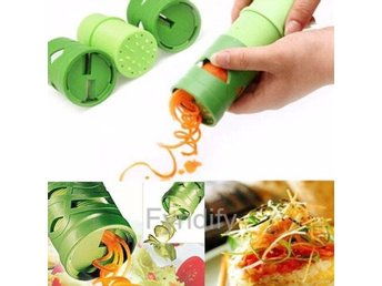 Vegetable Fruit Veggie Twister Cutter Slicer Processing Kitchen Garnish Tool