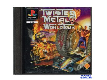 TWISTED METAL WORLD TOUR PS1 PLAYSTATION SCES-00567