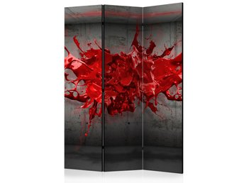 Rumsavdelare - Red Ink Blot Room Dividers 135x172