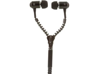 Streetz Zipper In-Ear Headset - Svart