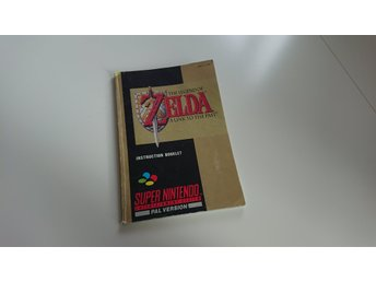 Zelda 3 A link to the past manual SCN